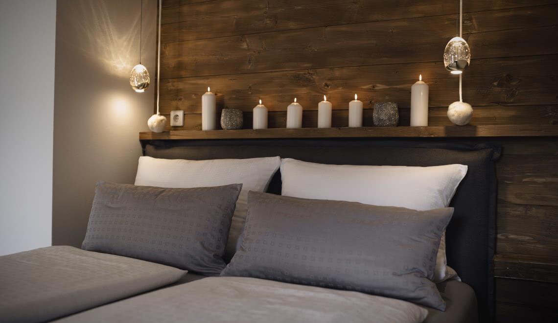 Doppelbett Apartment Sonnenterrasse - Pension am Rain