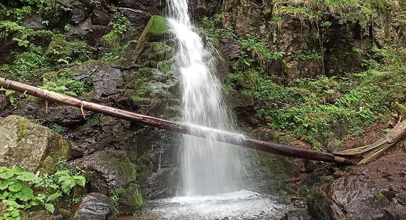 Zweribach Wasserfälle oberer Teil