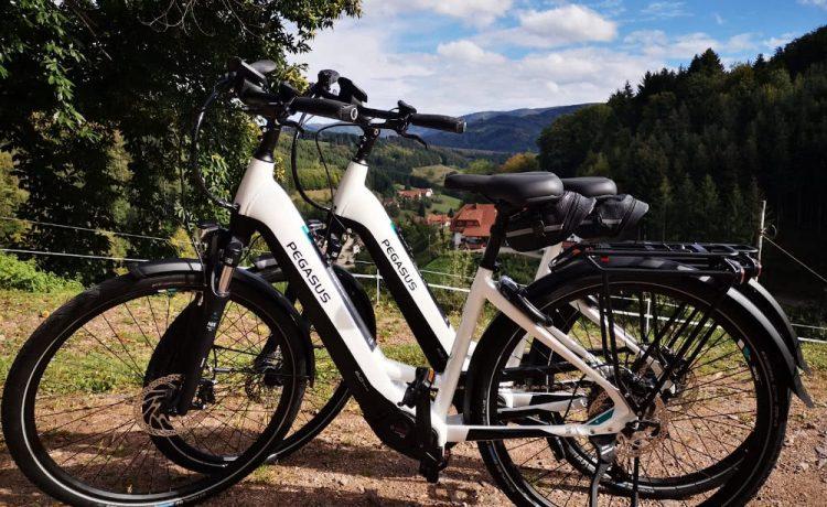E-Bikes der Pension am Rain