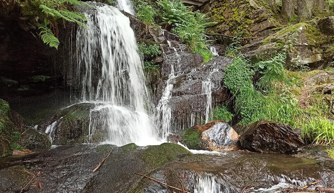 Zweribach Wasserfälle Fallstufe 2