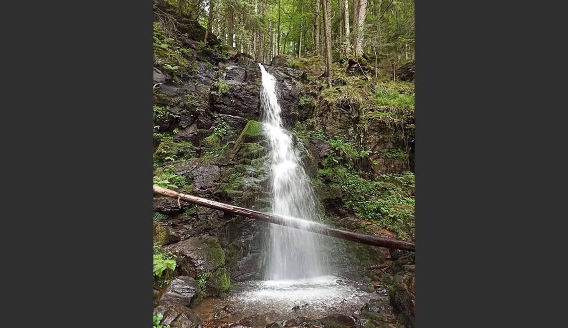 Zweribach Wasserfälle Fallstufe 1