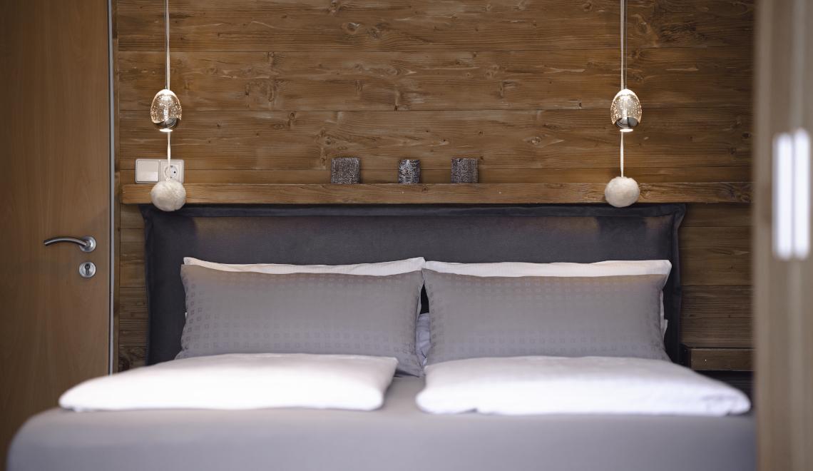 Doppelbett Apartment Sonnenterrasse